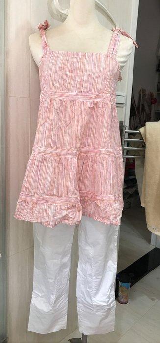 奇妮 涼感上衣加皇冠七分褲整套優惠出售
