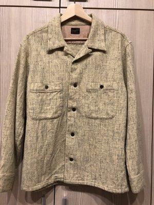 tenderloin 羊毛襯衫 size:S
