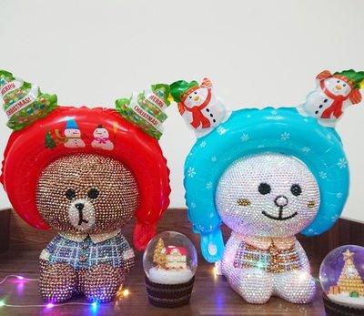 聖誕髮箍 聖誕手拿棒 聖誕節氣球 聖誕派對