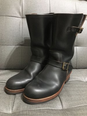 Lone Wolf engineer boots 日製長靴 Horween皮革 尺寸10號9成新品