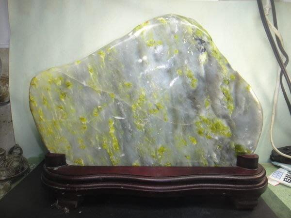 【競標網】漂亮桂林天然藍田玉石原礦8.2公斤(贈台製木座)(網路特價品、原價5000元)限量一件
