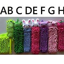 新世代動物造型擦手巾 特殊極細纖維/圓柱狀/長毛設計 可愛動物造型 清潔用品 一395