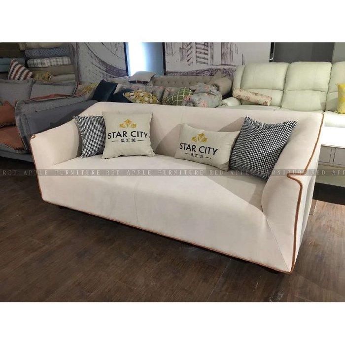 [紅蘋果傢俱]JX-01 沙發椅 布藝沙發 皮沙發 沙發 單椅
