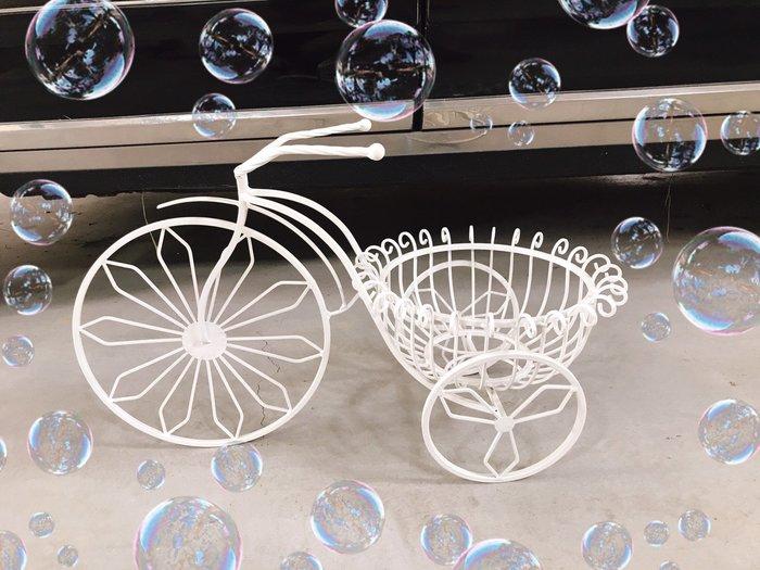 無折扣【華蕊】*鐵製單盆自行車*居家裝飾 花園造景 花園佈置 庭院佈置 婚禮佈置 會場佈置 花架 低價 促銷 出清