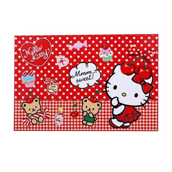 野餐墊 三麗鷗 Hello Kitty 野餐 座席 餐墊 單人用 S 日本進口正版授權
