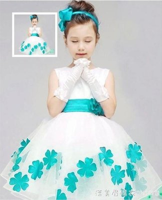 六一新款兒童舞蹈服花仙子公主裙演出服幼兒園女蓬蓬紗裙表演服裝