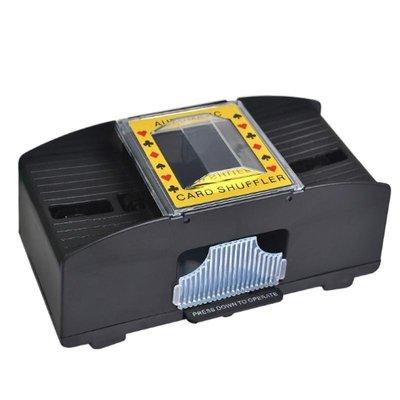 自動洗牌機【NT011】可洗兩附牌 自動發牌機 撲克牌洗牌機 寬牌/橋牌/紙牌/塑膠牌