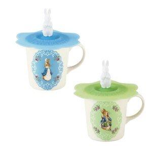 41+本通@gift41 Peter Rabbit 彼得兔 比得兔 日製 馬克杯 附蓋 選一 4979855186374