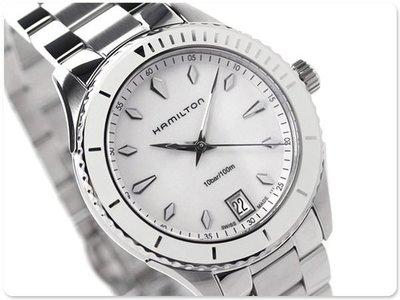 HAMILTON 漢米爾頓 手錶 Jazzmaster Seaview 38mm 女錶 H37411911