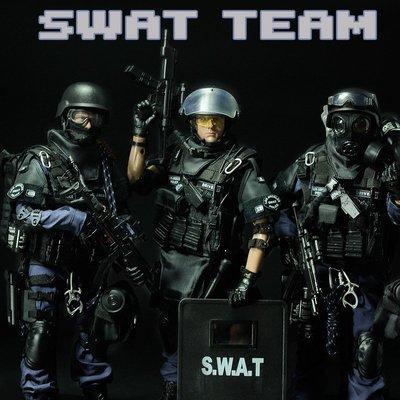 1/6軍事特種部隊關節可動仿真人偶SWAT兵人模型手辦玩具生日禮物