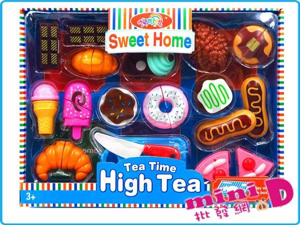 甜品切切看(16PCS) 扮家家酒 切切看 甜點 甜品 兒童 禮物 玩具批發【miniD】 [7014400006]