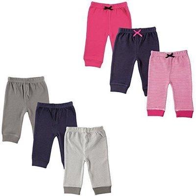 [Mamae] (3入/組)Luvable Friends 嬰幼兒純棉包腳長褲 內搭褲 男童 女童 中長褲 打底褲