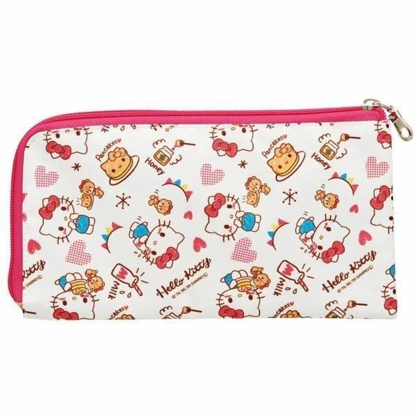 【草莓卡通館】Sanrio 三麗鷗 Hello Kitty 拉鍊口罩收納袋