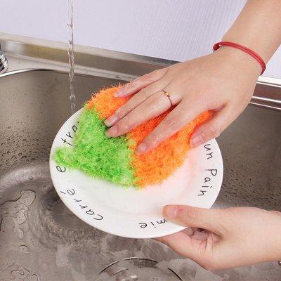 ?現貨館?速出貨 ❤️ 韓國熱銷 加厚吸水抹布 草莓洗碗巾 圓圈圈清潔布廚房洗碗毛巾 擦桌布擦碗布洗碗布