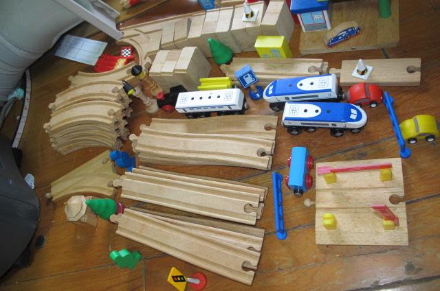 火車 加配件 橋 木製軌道 通用TOMY