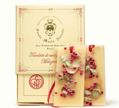 義大利 Santa Maria Novella 聖塔瑪莉亞諾維拉 石榴香氛蠟片 二件組 預購中