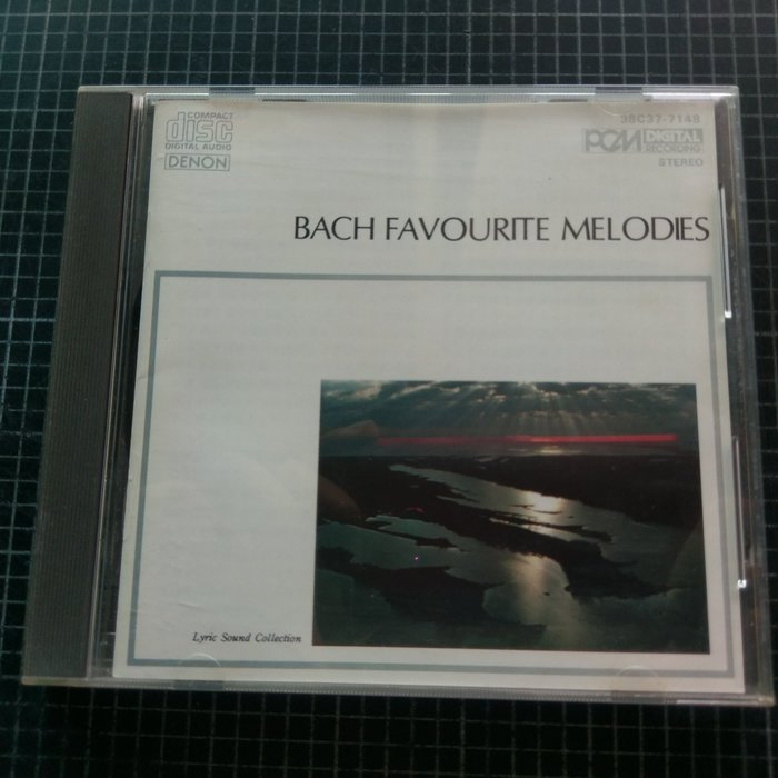 ※藏樂小舖※ (演奏CD) DENON~BACH FAVOURITE MELODIES (日版)
