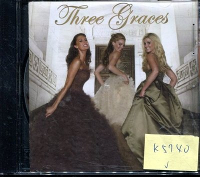 *真音樂* THREE GRACES 二手 K5740 (封面底破)  (清倉.下標賣)