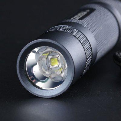 強光手電筒鈦灰色Convoy S2+luminus sst40,紫銅DTP板,高達1800lm手電筒