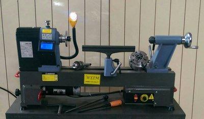 ※達哥木工車床//DⅠY木工車床*WE-042-KA型.電子數位式無段變速*使用長45公分直徑30公分