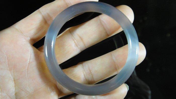 [福田工藝]天然瑪瑙玉鐲/手鐲/手環/內徑5.3cm外徑6.8cm手圍:17.5[瑪鐲8]