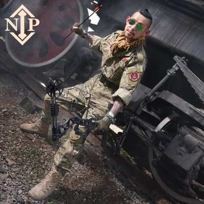 NIP軍迷男士特種兵戶外CS野戰作訓服 外軍美國MC戰術CP迷彩服套裝