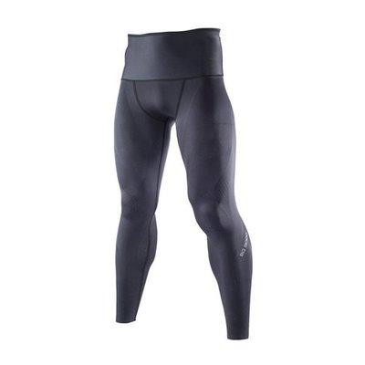 MIZUNO美津濃 新發售 BG9000 男 緊身褲 壓力褲 兩面穿 全長 K2MJ5B0298黑灰