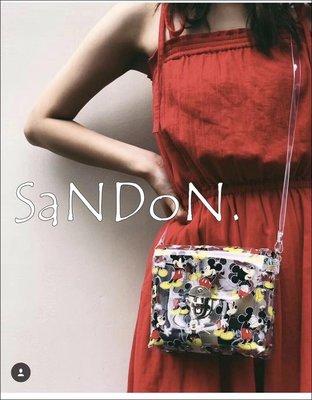SaNDoN x『MOUSSY』現貨販售獨家價格 正規品米奇聯名透視PVC側邊肩背包 SLY SNIDEL 180904