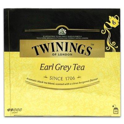 ~* 品味人生 *~唐寧 Twinings皇家伯爵茶 低咖啡(2g*50包) 精選紅茶 佛手柑香料