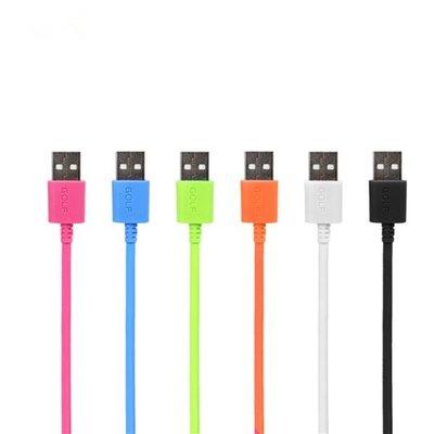 [哈GAME族]全新 多種顏色任選 GOLF Micro USB 1.5M 高速傳輸線
