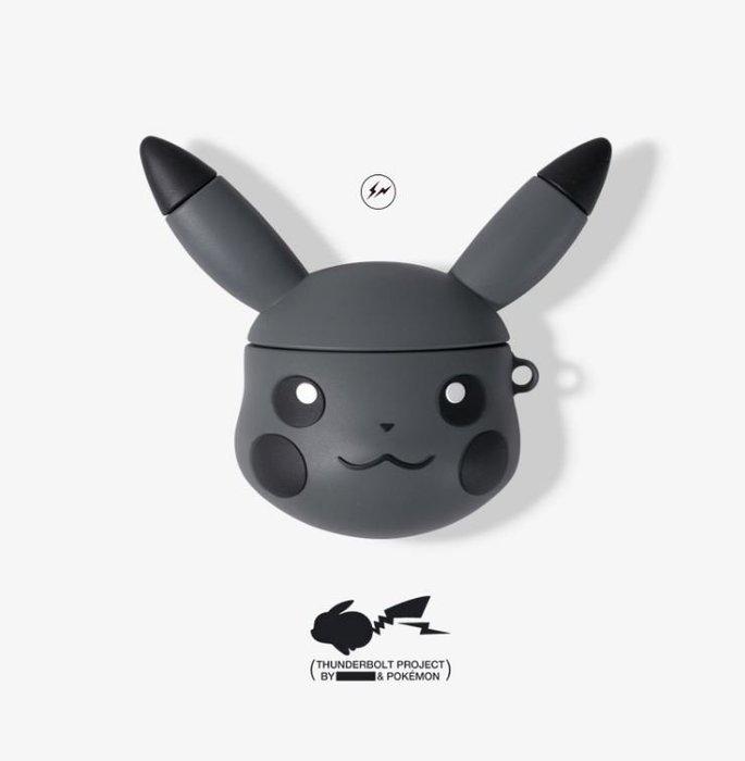 【NoComment】街頭潮流 Airpod蘋果藍芽耳機保護套 皮卡丘 寶可夢