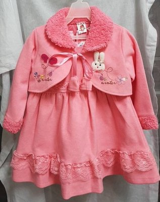 搬家清倉大拍賣-全新-小公主兩件式粉紅...