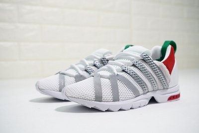 D-BOX  Adidas Consortium Adistar Comp AD 網面 透氣 慢跑鞋 銀白紅