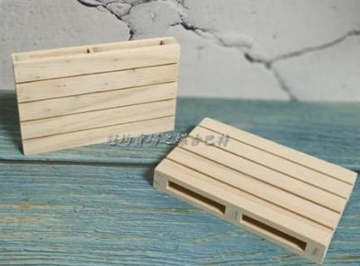 小棧板/小木托/蝶古巴特拼貼 餐巾紙 彩繪 黏土DIY美勞手作材料