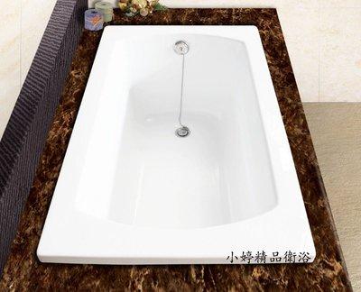 ※~小婷精品衛浴~簡約H~219方型浴浴缸 空缸 獨立浴缸 按摩浴缸 古典浴缸 105*65*49cm 台北市
