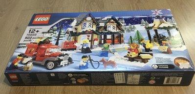 [二手]樂高, Lego 10222  Winter Village Post Office 聖誕系列