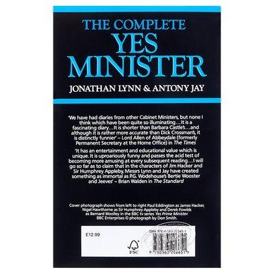 【中商原版】部長故事完整版 英文原版書 The Complete Yes Minister 是,大臣 BBC熱播電視劇