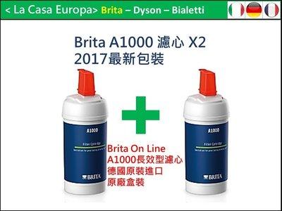 [My Brita] 2入 A1000 On Line 長效型濾芯。2020.03月製造。新包裝。原廠盒裝正貨。免運費。