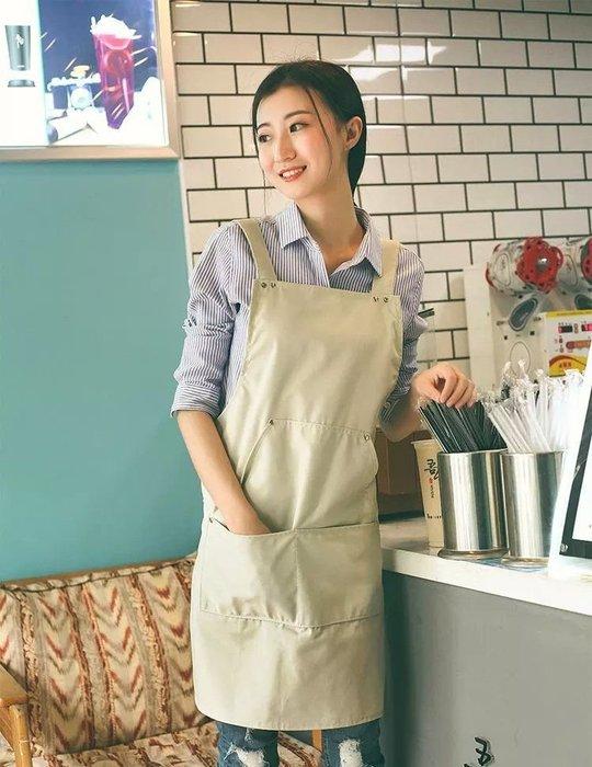 (正妹的店)北歐風工作圍裙 工業風圍裙 茶飲店 烘培店 美髪美容 民宿