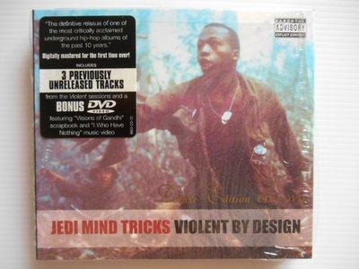 Jedi Mind Tricks - Violent by Design 進口美版 雙CD