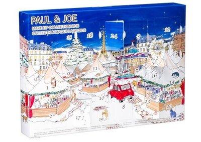 蕎蕎小鋪 Paul & Joe 2016 聖誕市集倒數彩妝盒 限量