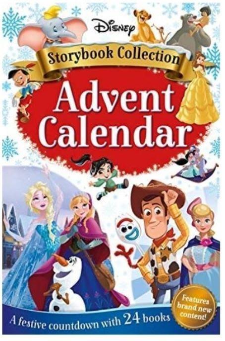 AQI BUY 迪士尼 人物故事書集 聖誕節倒數日曆 2019搶先上市 現貨 美國正版