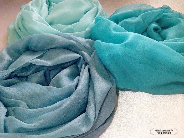 超夯推薦100% cashmere 海洋色系300支紗pashmina Shahmina 喀什米爾圍巾披肩