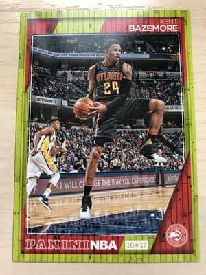 Kent Bazemore #34 2016-17 Panini NBA Hoops