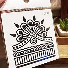 【萌古屋】】幾何圖騰 - 手背防水紋身貼紙刺青貼紙CD-101 K12