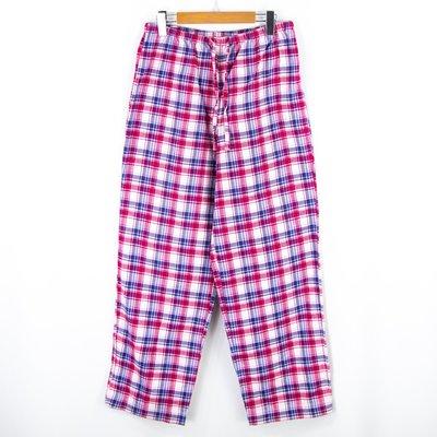 【品牌競區】L.L.Bean / 格紋 / 彈性 / 休閒長褲 / S號 ~ 5X85
