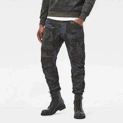 ☆COOKIE@G歐美商品☆2019到貨-低調暗迷彩3D彎刀牛仔褲-無品牌!!請看商品說明-厚度中等偏薄
