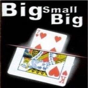 【意凡魔術小舖】大小大牌big small big 撲克牌魔術 撲克牌魔術