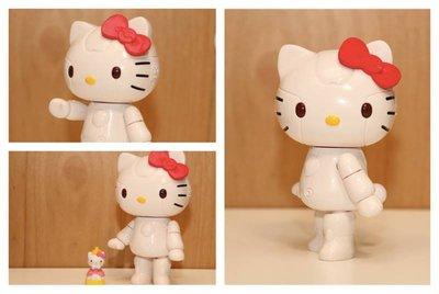 全新 ~Hello Kitty ROBOT KITTY~限量收藏大公仔未來樂園20公分機器凱蒂貓