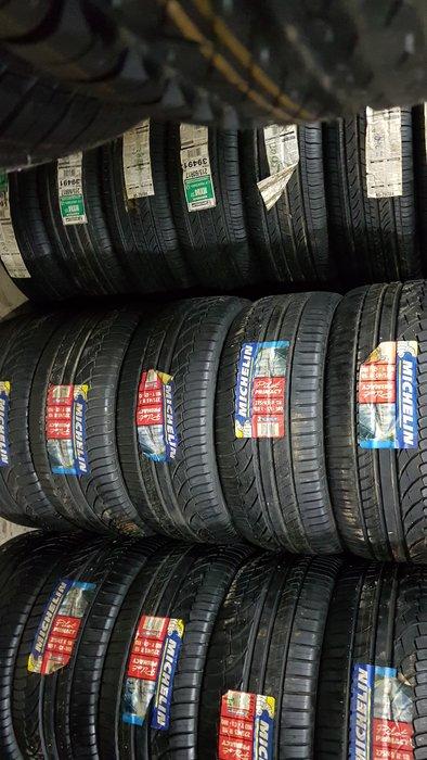 全新正品 275/45/18  米其林全新輪胎  最便宜一條4000元 最後8條  清倉拍賣